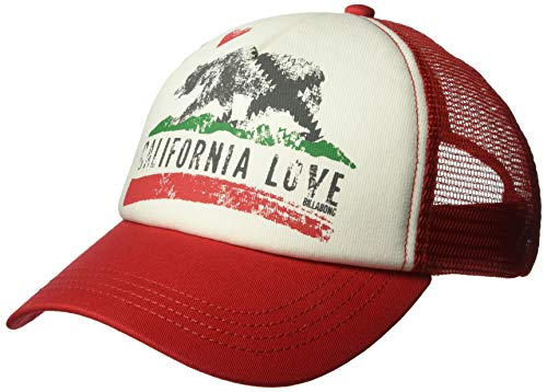 Billabong Women's Pitstop Trucker Hat Sunset Red One ()
