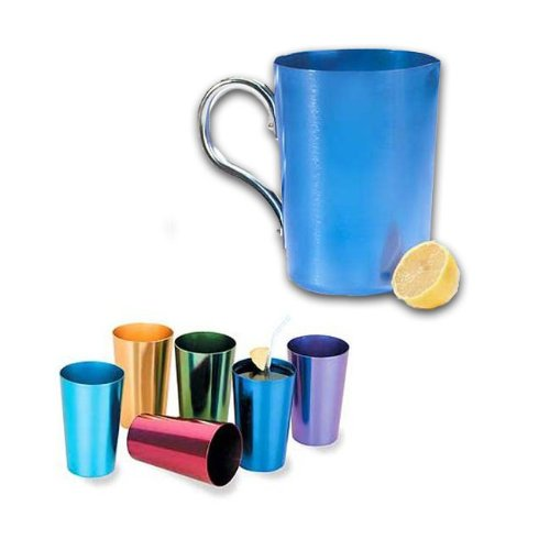small aluminum pitcher - 4