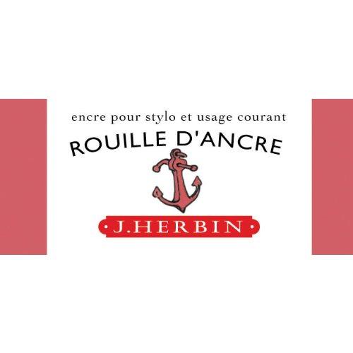 J. Herbin Fountn Pen Ink 30Ml Rouille D'ancre