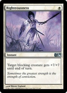 Magic: the Gathering - Righteousness - Magic 2010