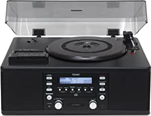 TEAC LP-R500 - Turntable + CD-Recorder - colors: negro
