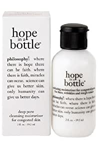 philosophy 'hope in a bottle' for adult acne