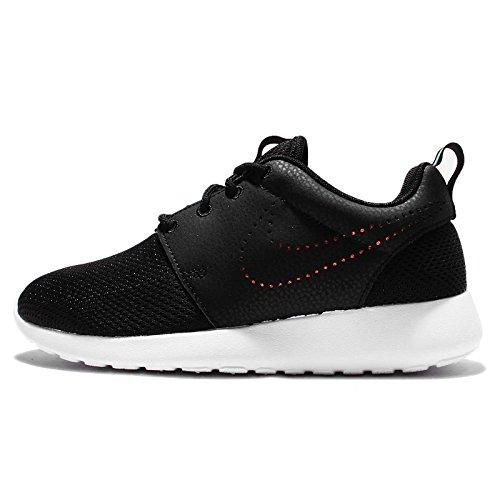 Nike Women's Wmns Roshe One PRM, BLACK/BLACK-BLUE TINT, 5.5 US