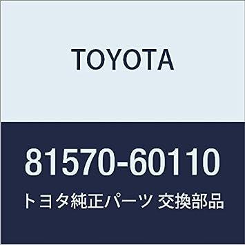 Genuine Toyota High Mount Lamp 81570-60110