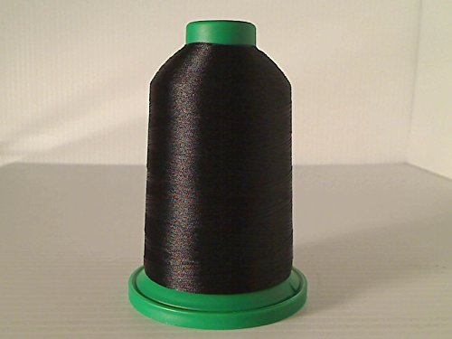 Isacord Embroidery Thread, Black Thread 5000M color 0020 ()