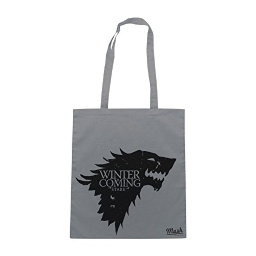 Borsa Winter Is Coming - Game Of Thrones - Grigia - Film by Mush Dress Your Style