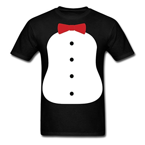 Spreadshirt Penguin Tuxedo Costume Men's T-Shirt, 2XL, ()