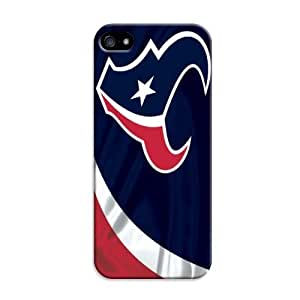 Fashion Popular Nfl Houston Texans Team Logo Durable Hard Case For Iphone 4/4S Cover Case