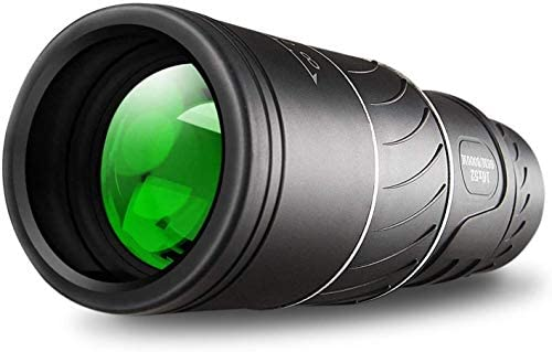 Monocular Telescope,16×52 Monocular Dual Focus Optics Zoom Telescope, Day & Low Night Vision- [Upgrade] Waterproof Monocular with Durable and Clear FMC BAK4 Prism Dual Focus for Bird Watching,