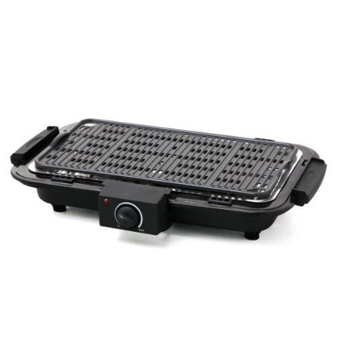 416dqMhsaWL. SS500 Revestido antiadherente placa de la parrilla 40.4 x 22.7 cm Termostato ajustable con luz indicadora El elemento calefactor se puede quitar para la limpieza