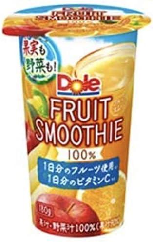雪印 メグミルク Dole FRUIT SMOOTHIE 180g×12本入【クール便】
