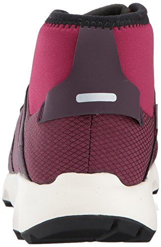 Adidas Outdoor Donna Terrex Voyager Cw Cp W Walking Shoe Mistero Rubino / Bordeaux Scuro / Nero