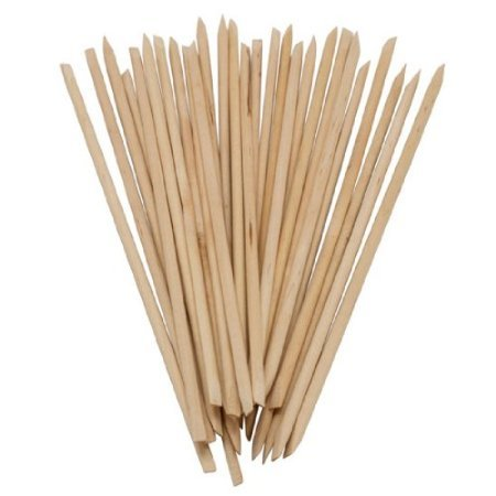 *Beauticom USA Base* BULK Cuticle Wood Stick Pusher Manicure 7'' in Length, 1/8'' Diameter (10,000 pieces) by Beauticom