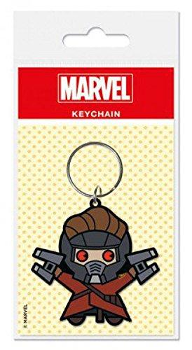 1art1 Marvel Comics - Kawaii, Star Lord Llavero (6 x 4cm ...
