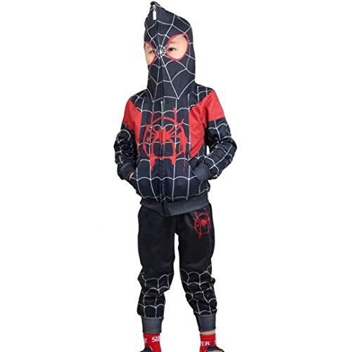 Szytypyl Kids Boys Girls Spider Verse Miles Morales Gwen Costumes Cosplay Superhero Pants Set Outfit -