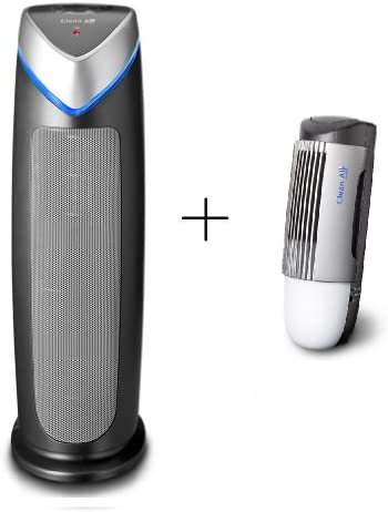 Ionizador purificador de aire HEPA UV CA-506 + diseño ionizador ...