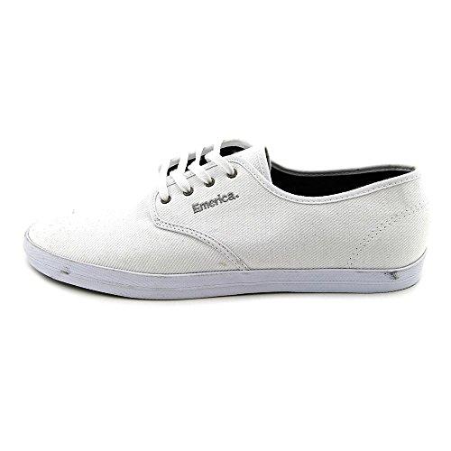 Emerica Men's The Wino Skate Shoe,White,9.5 M US