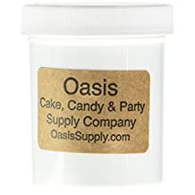 Oasis Supply Golda's Kitchen Dragees 4-Ounce Sugar Cake Cupcake Cookie Sprinkles, 6mm, Silver