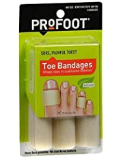 Profoot Profoot Toe Bandages, Medium each (Pack of 2)