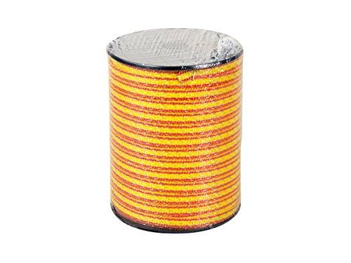 Stromzaun horizont Weidezaunband Extra 11mm: Zaunband orange//gelb 200m f/ür Weidezaun f/ür unterschiedliche Z/äune als Zaunelement geeignet Qualit/ät Elektrozaun