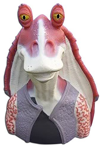 Star Wars Episode 1 Jar Jar Binks Plastic Bank
