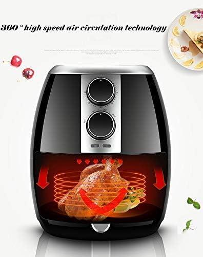 Air friteuse, elektrische friteuse, snel luchtcirculatiesysteem kan de temperatuur, gezonde zonder olie aan te passen, weinig vet 8bayfa