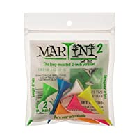 "Martini Golf Tees 2"" (5 Pack)"