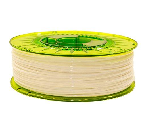 advanc3dmaterials 0000303 AdWire Premium Filament, ABS, Ø 1,75 mm, 1 kg, Ice White
