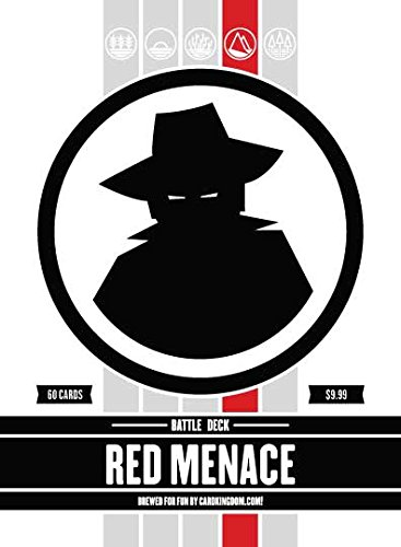 Red Menace Battle Deck. Magic the Gathering Preconstructed Deck. 60 cards. ()