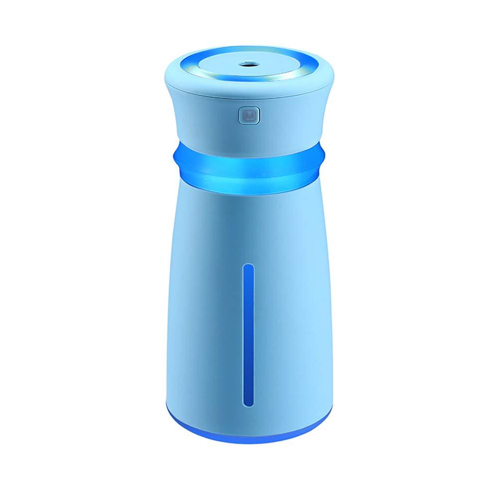 YOEDAF USB Air Purifier Fan Nano-Spray Adjust Humidity Humidifier Mist Atomizing Diffuser Sprayer Air Cleaner Air Filter Multifunctional(Blue)