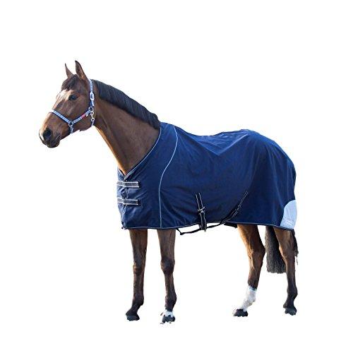 Horze Supreme Barton Softshell Blanket, Peacoat Dark Blue, - Shell Barton