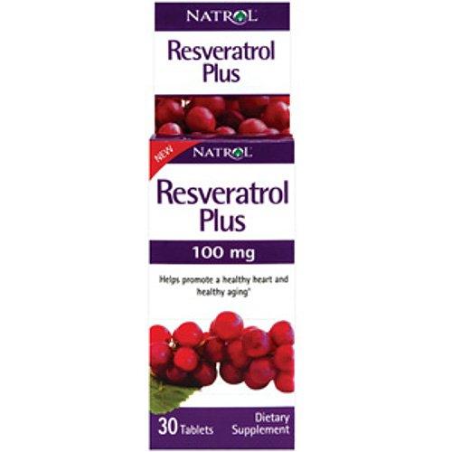 Natrol Resveratrol Plus 100mg Antioxidantien