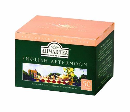 (Ahmad Tea Black Tea, English Afternoon, 50 Count )
