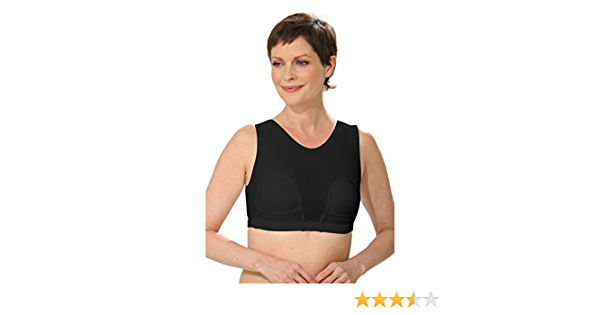 HydroChic Women/'s Mastectomy Bra with Pockets Wire Free Swim Bra