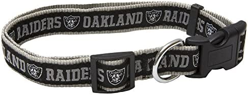 11378ae32 Amazon.com   Pets First NFL Oakland Raiders Pet Collar