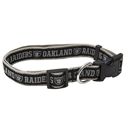 Pets First NFL Oakland Raiders Pet Collar, Medium