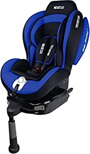 Sparco Corsa F500I Isofix Child Seat Group 1 (9-18Kg) Blue - Spc4006