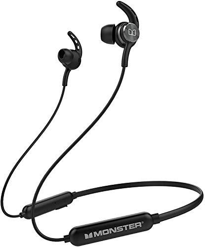 Monster iSport Spirit, Wireless Headphones, Bluetooth 5.0 Headphone, Built-in Mic, 8-10 Hours Playtime, HD Bass Stereo…