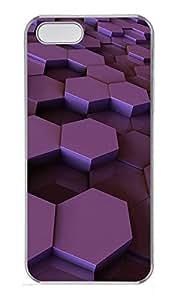 iPhone 5 5S Case 3D Box PC Custom iPhone 5 5S Case Cover Transparent