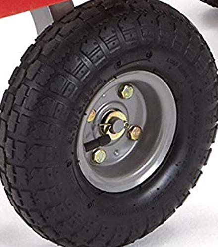 Gray -COM Bolig 10 Replacement Wheel Compatible with Gorilla Carts GOR800 and Other Models