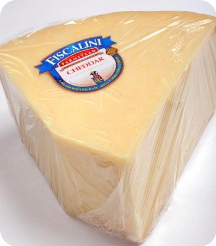 Fiscalini Farmstead Cheddar Cheese (Whole Wheel) Approximately 10 Lbs by For The Gourmet (Image #1)
