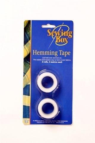 151 Hemming Tape 2 x 10 metres rolls, iron on Ketter bedroom box drawers