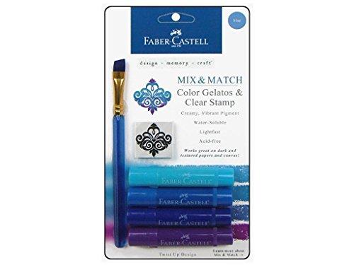 Faber Castell Mix & Match Gelatos Blue (Faber & Match Castell Mix)