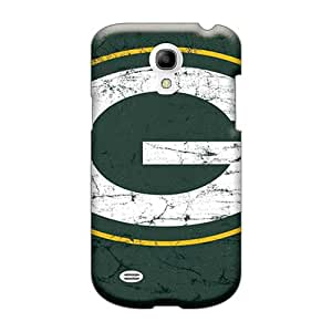 Durable Hard Cell-phone Cases For Samsung Galaxy S4 Mini (urt5197mHWf) Provide Private Custom Trendy Green Bay Packers Skin