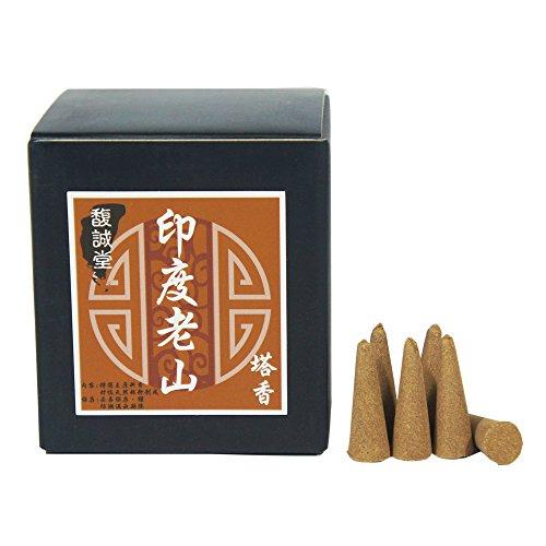 (Sandalwood Incense Cones 5 Ounes About 100pcs)