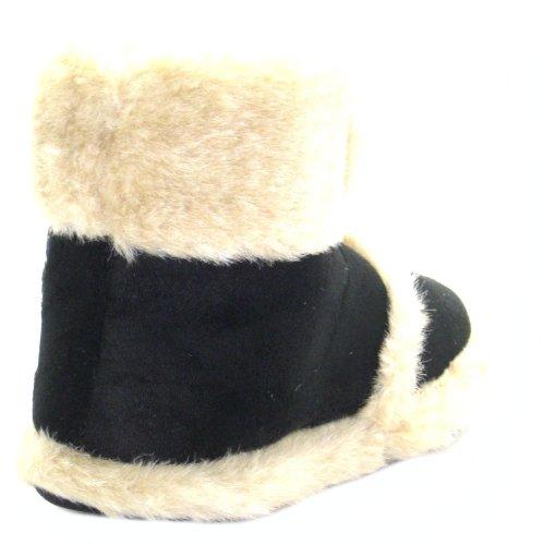 Coolers  Ad3174, Chaussons pour femme Noir noir