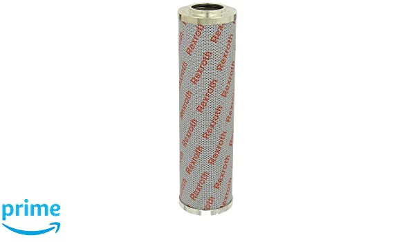 3 Micron Bosch Rexroth R928017319 Micro-glass Filter Element Absolute Cartridge Type 1.90 ID x 3.54 OD x 6.44 Tall Without Bypass Valve; Removes Particle Contaminants and Protects Hydraulic Systems