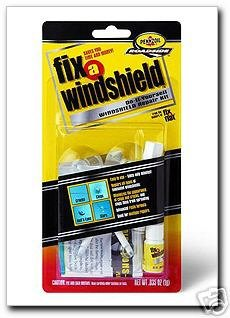 (RainX Fix a Windshield Do it Yourself Windshield Repair Kit, for Chips, Cracks, Bulll's-Eyes and Stars)