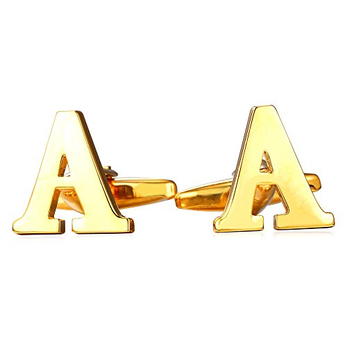 u7-mens-1-pair-set-cuff-links-wedding-business-shirt-studs-gold-plated-26-alphabet-initial-letter-cu