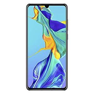 Huawei P30 Dual/Hybrid-SIM 128GB (GSM Only, No CDMA) Android 9.0 4G Smartphone, Midnight Black Huawei